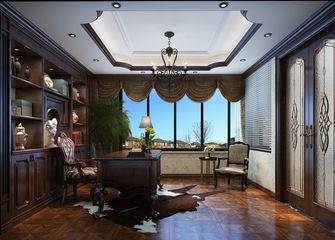 140平米别墅东南亚风格书房效果图