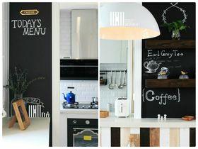 110平米三室兩廳北歐風格廚房效果圖
