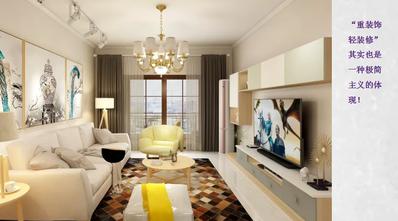 80平米一居室混搭风格其他区域装修案例