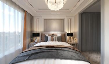 130平米复式美式风格卧室图片