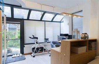 经济型80平米三室两厅田园风格书房装修案例