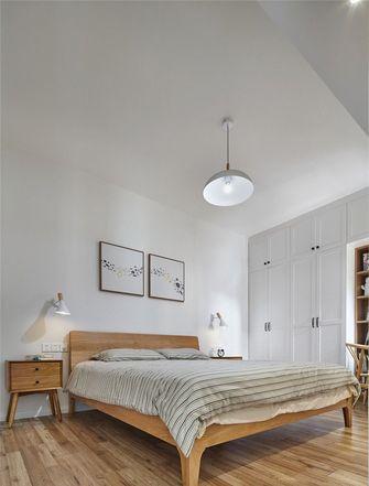 90平米三室一厅宜家风格卧室图
