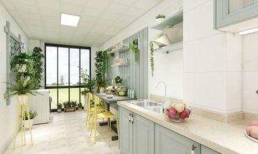 80平米三室一厅欧式风格厨房图