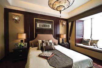 110平米三室一厅东南亚风格卧室图片