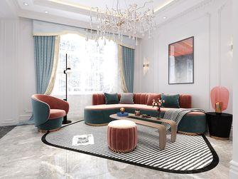 140平米复式法式风格客厅图