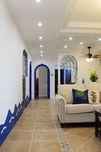 100平米三室两厅地中海风格走廊装修图片大全