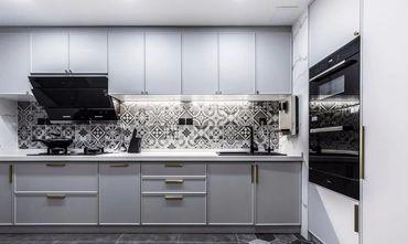 120平米四室两厅美式风格厨房图