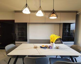 5-10万130平米三室两厅现代简约风格餐厅装修案例