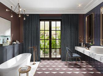 140平米别墅现代简约风格卫生间设计图