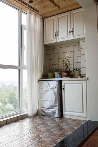 90平米三室一厅美式风格阳台欣赏图