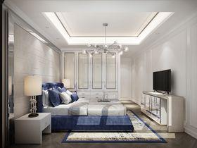 90平米三室兩廳歐式風格臥室裝修圖片大全