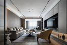 100平米三室两厅英伦风格客厅欣赏图