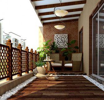 10-15万120平米三室两厅东南亚风格阳台图片大全