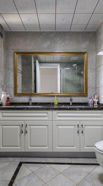 经济型140平米三室两厅法式风格卫生间装修效果图