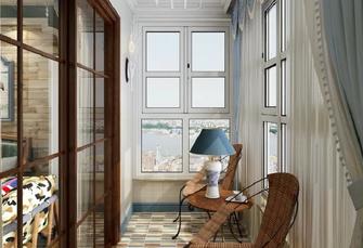 100平米三室两厅地中海风格衣帽间效果图