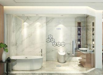 120平米一居室现代简约风格卫生间装修效果图