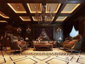 140平米四室四厅英伦风格客厅装修案例
