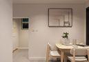 60平米一居室现代简约风格餐厅装修案例