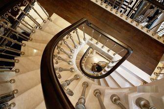 10-15万140平米别墅新古典风格楼梯图片大全
