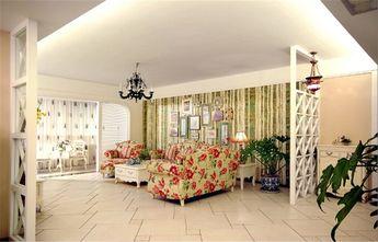 15-20万130平米四室一厅田园风格客厅装修效果图