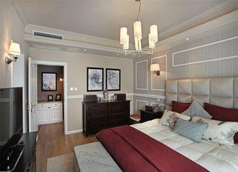 110平米现代简约风格卧室装修图片大全