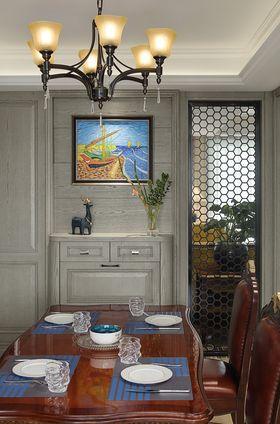 130平米三室兩廳美式風格玄關欣賞圖