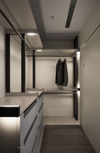 110平米三室两厅现代简约风格衣帽间图