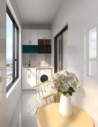 110平米四室两厅日式风格阳台图片