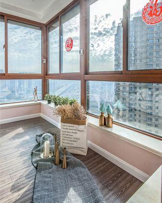 130平米三室一厅混搭风格阳光房装修图片大全