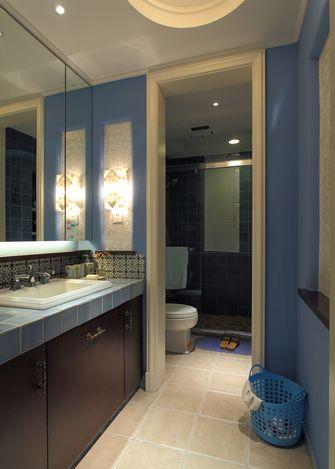 70平米一室两厅地中海风格卫生间装修图片大全
