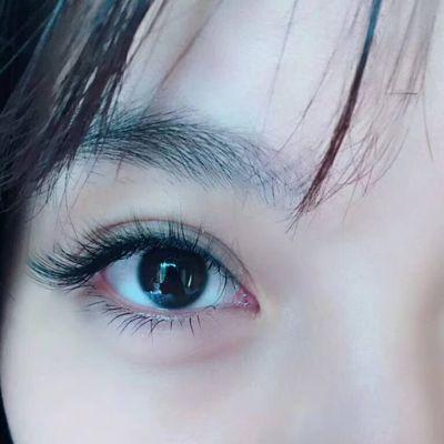 梦露妩媚睫美甲款式图