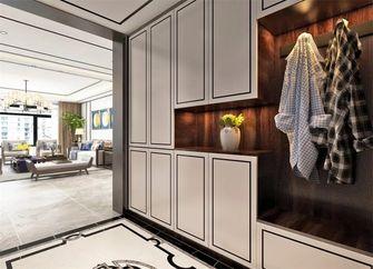 140平米四室一厅中式风格玄关图片大全