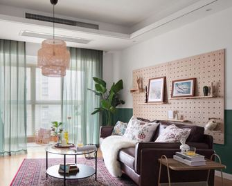 110平米三东南亚风格客厅装修案例