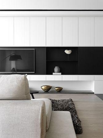 80平米一居室现代简约风格客厅图片大全