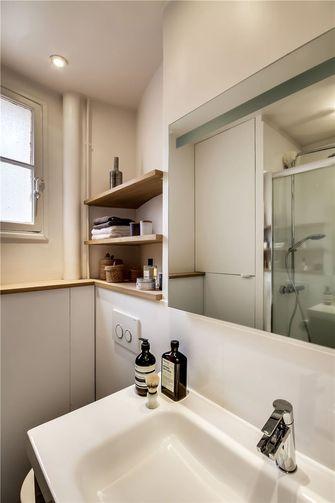 50平米一室一厅日式风格卫生间图片