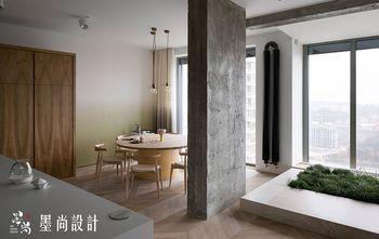 120平米三室两厅北欧风格餐厅装修图片大全