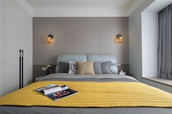 100平米三室一厅混搭风格卧室设计图