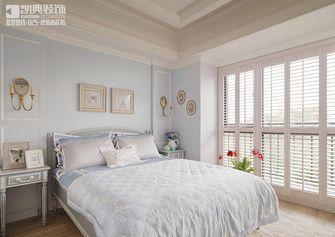 130平米三室两厅田园风格卧室飘窗装修效果图