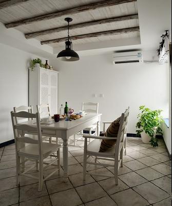 70平米复式地中海风格餐厅图片