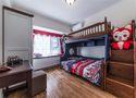 90平米混搭风格儿童房装修案例