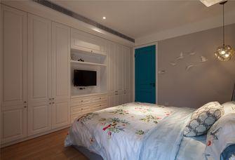 90平米三室两厅混搭风格卧室图片