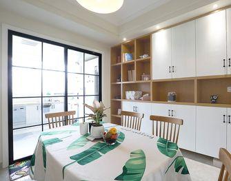 130平米三室一厅宜家风格餐厅装修效果图