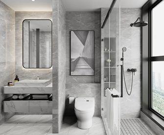130平米三室一厅宜家风格卫生间欣赏图