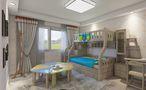 140平米四田园风格儿童房装修案例