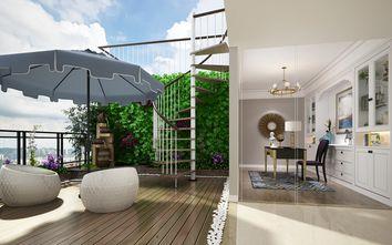 80平米三室一厅欧式风格阳台设计图