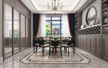 140平米四室五厅中式风格餐厅图片大全