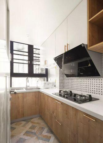 50平米一室一厅日式风格厨房欣赏图