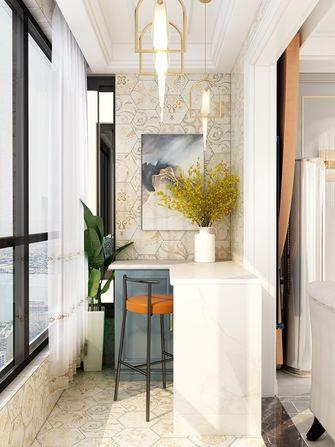 140平米三室两厅美式风格阳台装修效果图