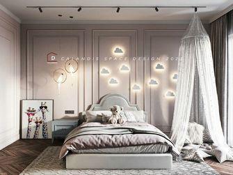 140平米三室一厅美式风格儿童房装修案例