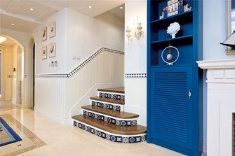 140平米复式地中海风格楼梯间装修图片大全